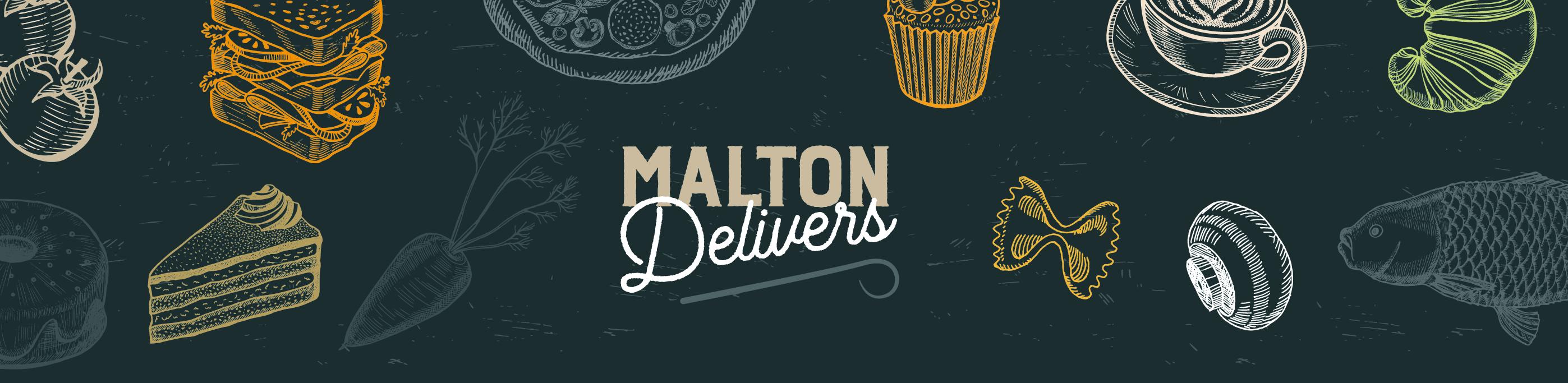 Malton Delivers Logo